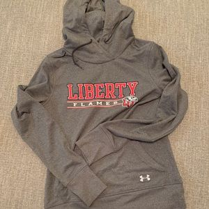 Liberty University sweatshirt